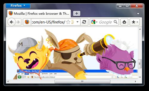 Wygląd Firefox - MX3